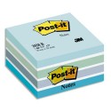 Bloc cube Post-it RELAX Light de 450 feuilles 7,6 x 7,6 cm