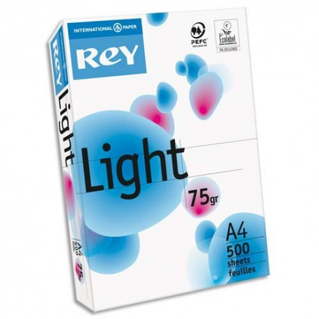 Ramette papier blanc A4 Papyrus Rey Light 500 feuilles 75g