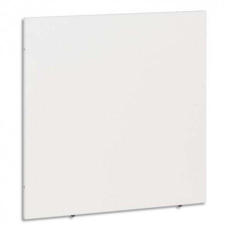 GAUTIER Côté de finition pour banque d'accueil d'angleSunday - Dimensions L71 x H70 x P2 cm coloris blanc