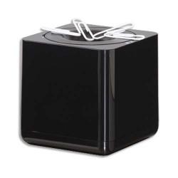 HAN Distributeur de trombones Iline en ABS - Carré 7 cm coloris noir
