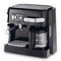 DELONGHI Machine à café combiné pompe, buse vapeur cappuccino réservoir 1L L37,1 x H31,1 x P28,3 cm noir