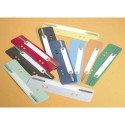 DURABLE Sachet de 25 attaches perforées coloris assortis