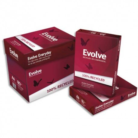 ALIZAY Ramette de 500 feuilles EVOLVE Everyday 100% recyclé A4 80G 150CIE