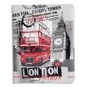 AKASHI Etui pour tablette IPAD 2,3,4 LONDON NEWS ALTEID104280