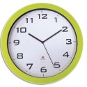 ALBA Horloge murale Horissimo silencieuse grand format à pile 1AA non fournie - D38 cm, P5,11 cm vert
