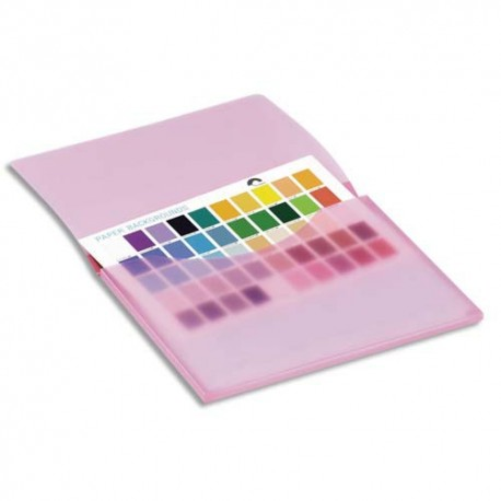 TARIFOLD Sachet de 6 porte documents Tcollection en PP 7/10e 1 rabat A4 coloris assortis