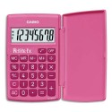 Calculatrice scientifique Casio petite FX rose