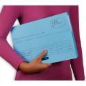 ELBA Paquet de 25 pochettes à rabat ULTIMATE. Dimensions : 220x315mm,carte CANSON bleu