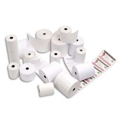 Bobine caisse Exacompta standard 44 x 70 x 12 mm papier offset blanc 60g