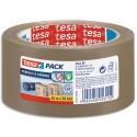 Ruban adhésif d'emballage Tesa polypropylène silencieux 54 microns - Dim. H50 mm x L66 mètres havane