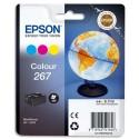 T2670 (T267040) EPSON Multipack jet d'encre 3 couleurs Globe de marque Epson C13T26704010