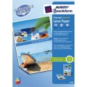 Papier photo AVERY - P/200 feuilles papier photo Premium brillant A4 150gr pour laser couleur