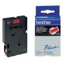 BROTHER TC-401 (TC401) Cassette Ruban TC noir/rouge 12mmx7,7m TC401