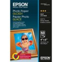 Papier photo EPSON - Pack de 50 feuilles papier photo jet d'encre glossy 10 x 15 200g C13S042547