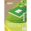 AGIPA Rouleau de 500 étiquettes expéditeur/destinataire 125x65 115439