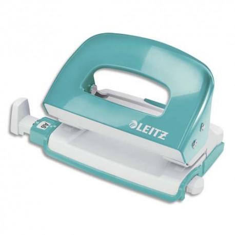 LEITZ Mini Perforateur menthe - 2 trous en métal - Capacité 30 feuilles - Livré en boite