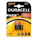 DURACELL Blister de 2 piles MN21 Alcalines Duralock pour alarmes et télécommandes