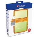 "VERBATIM Disque dur USB 3.0 - 2,5"" Store'n'go 1To vert 53072 + Redevance"