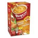 ROYCO Boîte de 15 sachets de potage aux Légumes et croûtons