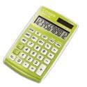 Calculatrice de poche 12 chiffres CPC112 laquée verte clair Citizen