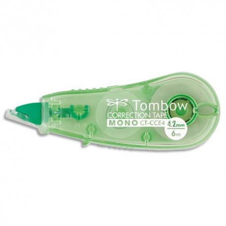Roller de correction TOMBOW Mini Micro tombow compact, 4,2mmx6m, coloris translucide