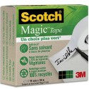 SCOTCH Boite Individuelle de 1 ruban Scotch Magic recyclé, 19mmx30m