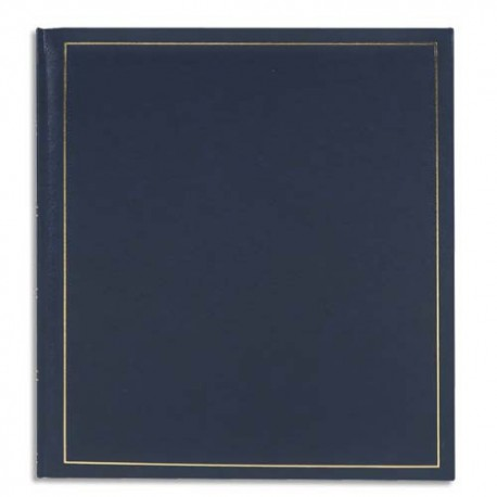 BREPOLS Album photo ELITE 32,5x34cm 100 pages. Feuillets blancs. Couverture marine