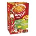 ROYCO Boîte de 15 sachets de potage à la Tomate provencale et croûtons à l'ail