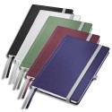 Cahier A6 brochure rigide 160 pages papier 80g petits carreaux Couverture rigide assortis Leitz Style