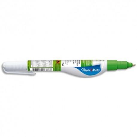 Correcteur Papermate Stylo pointe métal tubulaire micro contenance 7 ml LIQUID PAPER NP 10 MICRO
