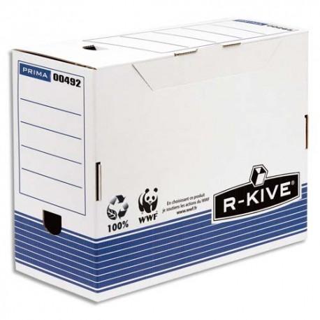 Archivage BANKERS BOX - Lot de 6 Boîtes archives dos 15cm system montage auto, livré en présentoir de 8 lots