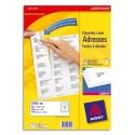 Etiquette AVERY L7161 - Boîte de 1800 étiquettes laser blanc 63,5X46,6mm L7161-100