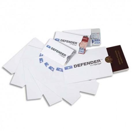 SEDIC Sachet de 5 étuis anti-RFID pour carte bleue. Thème Minéral. Format 57 x 87 mm.