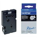 BROTHER TC-101 (TC101) Cassette Ruban TC noir/transparent 12mmx7,7m TC101