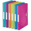 Boîte de classement Leitz WOW en polypropylène Dos de 30mm Fermeture par élastique Coloris assortis et à la couleur - Assortis