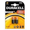 DURACELL Blister de 2 piles Alcalines N MN9100 Duralock pour alarmes et télécommandes