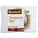 Ruban adhésif transparent Scotch 550 15mm x 66m en sachet individuel