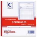 Manifold commande autocopiant format 21x21cm, 50 feuillets dupli Elve
