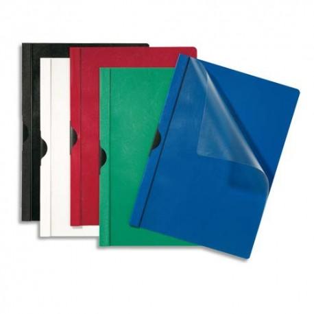Chemise de présentation à clip Eco 5* Capacité 60 feuilles. Coloris bleu fonçé paquet de 25