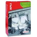 Etiquette AGIPA (392) - Boite de 500 étiquettes blanches bijouterie avec fil blanc 36x53mm