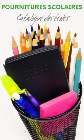 Fournitures scolaires et bureau cartouches et consommables